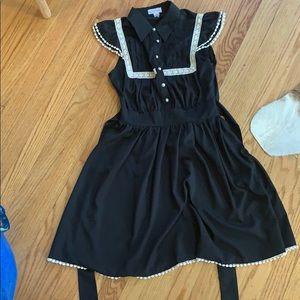 Black feminine dress